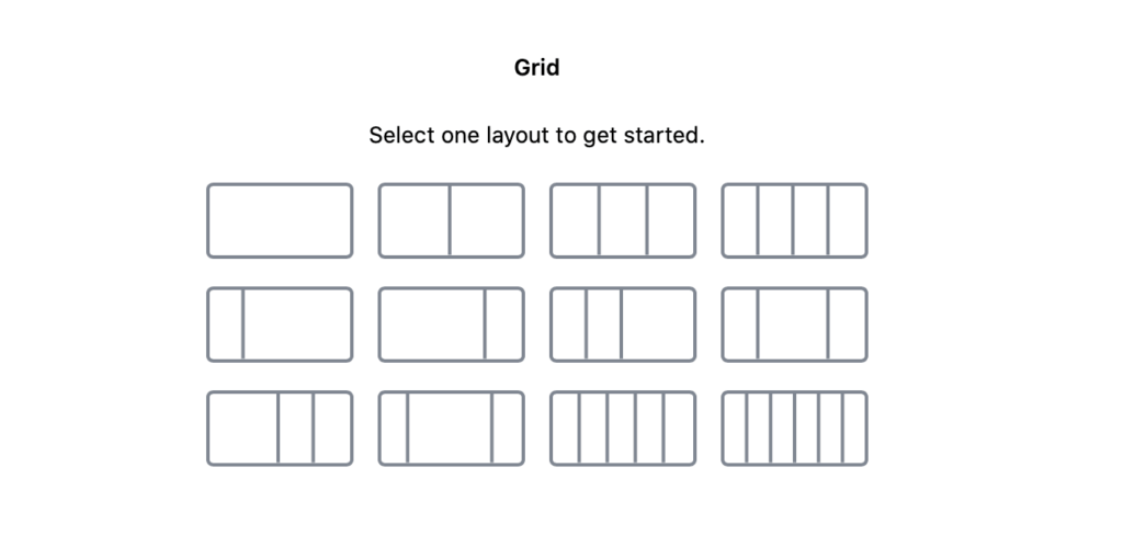 GB Grid Block Layouts